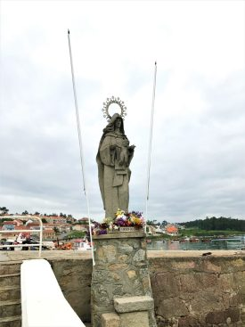 Virgen del Carmen at port Xufre