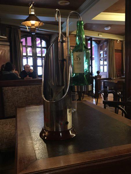 Asturian Cider machine
