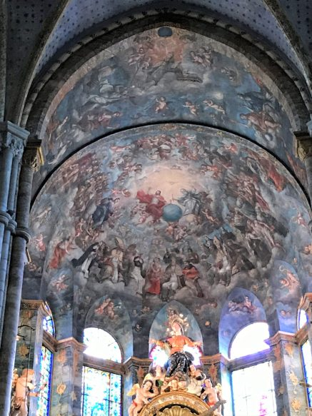 Main Alter Ceiling Paintings