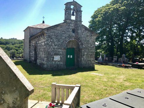 Church of Santa Cruz in San Roman