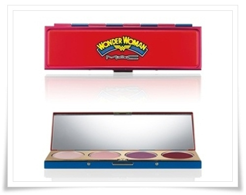 MAC Wonder Woman 7 MAC Wonder Woman Collection