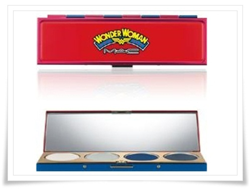 MAC Wonder Woman 9 MAC Wonder Woman Collection