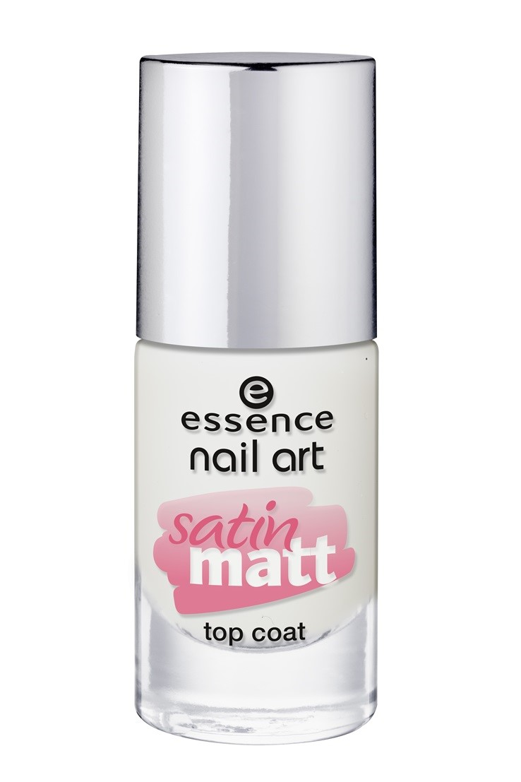 Essence Nail Art Satin Matt Top Coat 26 Pastel To Ombre