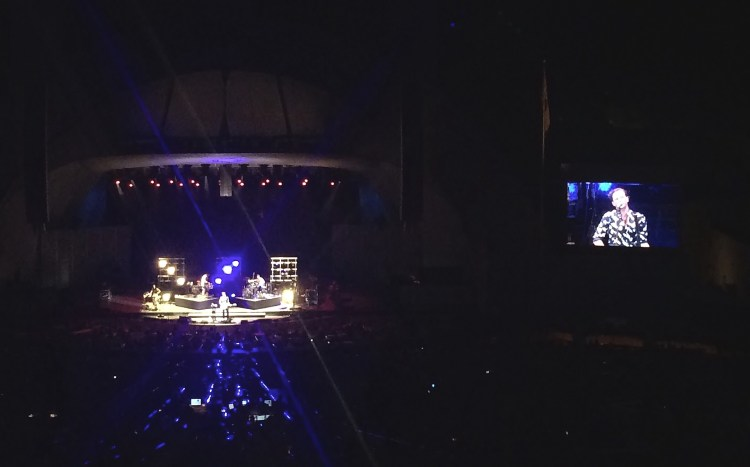 St. Lucia Hollywood Bowl iPhone