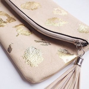 Music Festival DIY – Gold Foil Bag