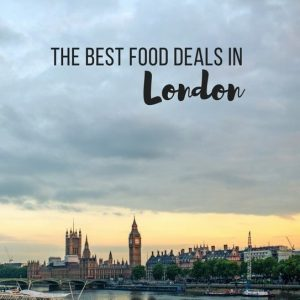 The Best Food Deals in London