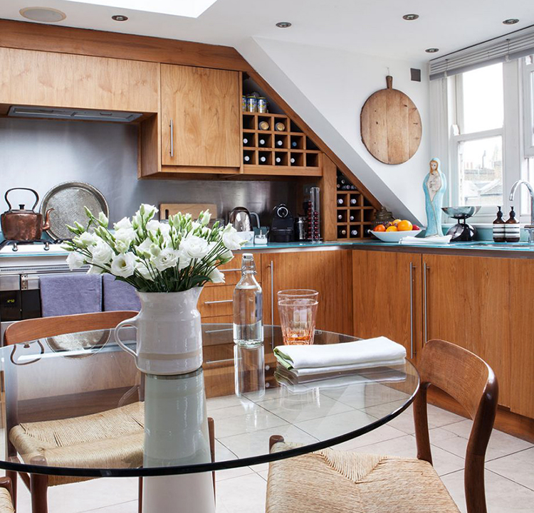 Bewitching London Home Tour - Kitchen