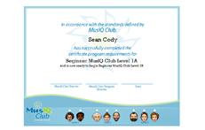 CMJ: Certificate