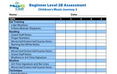 CMJV2-B: Assessment Student Group