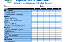 CMJV2-C: Assessment Grade 2 Stream
