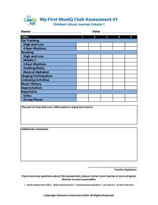 MFMC: Assessment 1A