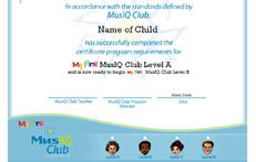 MFMC: Certificate