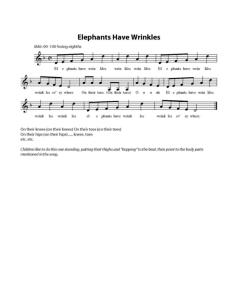 MFMC: Elephants Have Wrinkles