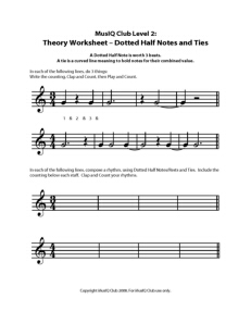 L2: TH Dotted Half Notes and Ties
