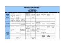 L3: Weekly Planner