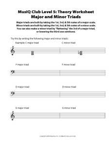 L5: TH Major and Minor Triads