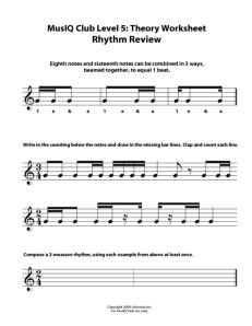 L5: TH Rhythm Review