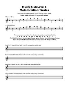 L6: TH Melodic Minor Scales