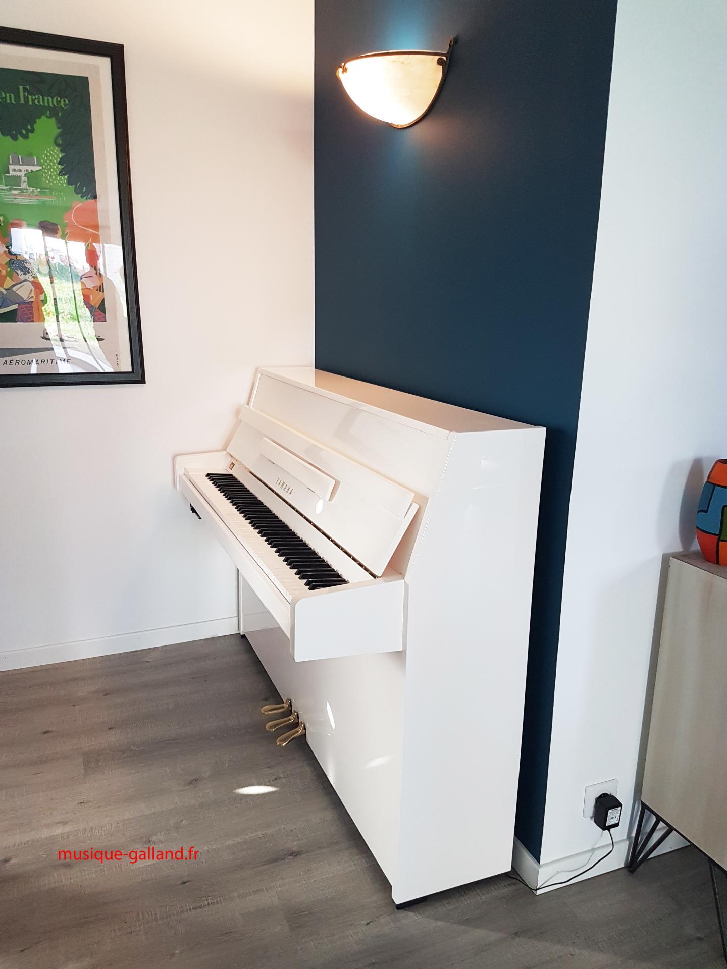piano neuf yamaha b1 blanc 110cm