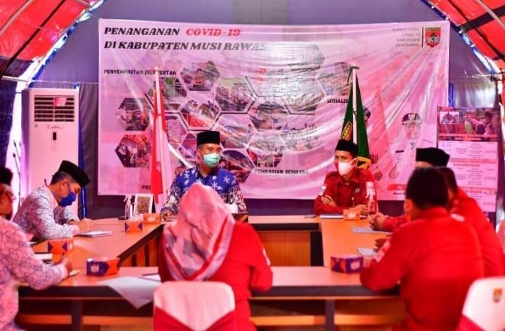 Laporkan Tahapan Pilkada, KPU Mura Audiensi Bersama Bupati