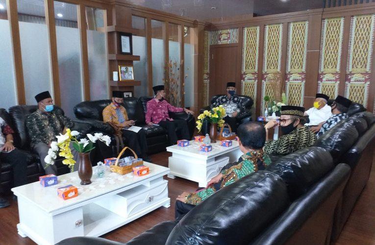 Audiensi Presidium Sumsel Barat ke Bupati Musi Rawas, Minta Dukungan Provinsi Baru