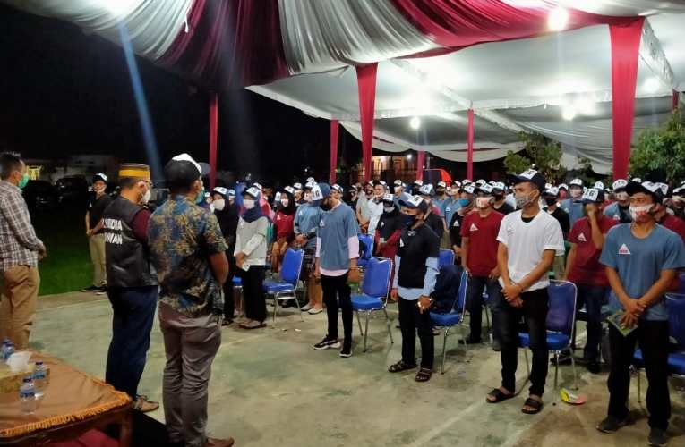 Kaum Milenial Kecamatan Selangit Siap Menangkan H2G-MULYA