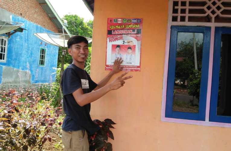 Gerakan Milenial Petunang Ajak Masyarakat Pilih H2G-Mulya