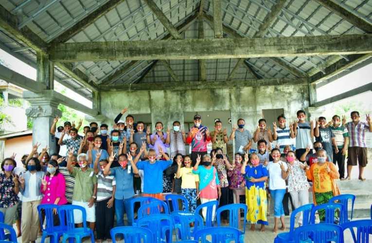 Warga Bali Sukakarya Siap Menangkan H2G-Mulya