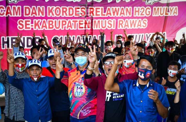 Usai Dikukuhkan, Milenial Beliti, TPK & Tuah Negeri Siap Menangkan H2G-Mulya