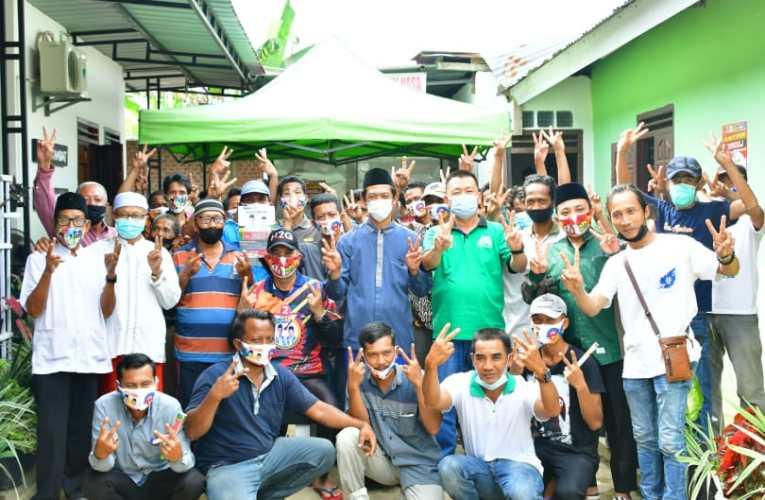 Warga Megang Sakti, Sambut Antusias Kampanye Cabup H2G