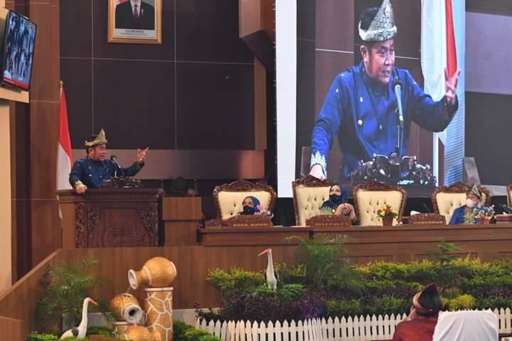 Peringatan HUT Kabupaten Musi Rawas ke 78 Berlangsung Khidmat