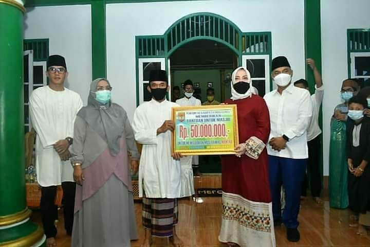 Safari Ramadhan di Kelurahan Muara Beliti, Bupati Bantu Masjid Rp 50 juta