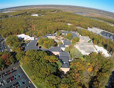 Aerial view of MCC main campus