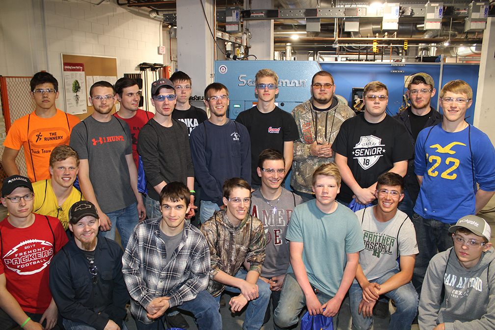 Group photo of participants in the MCC Welding Invitational
