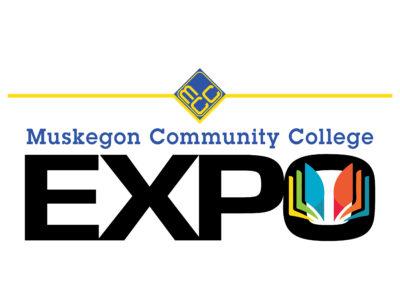 Muskegon Community College EXPO logo