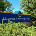 Muskegon Community College sign