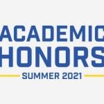 Academic Honors Summer 2021