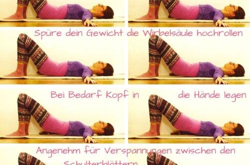 Beste Allrounder Rücken und Bauch Übung Wirbelsäule aufrollen