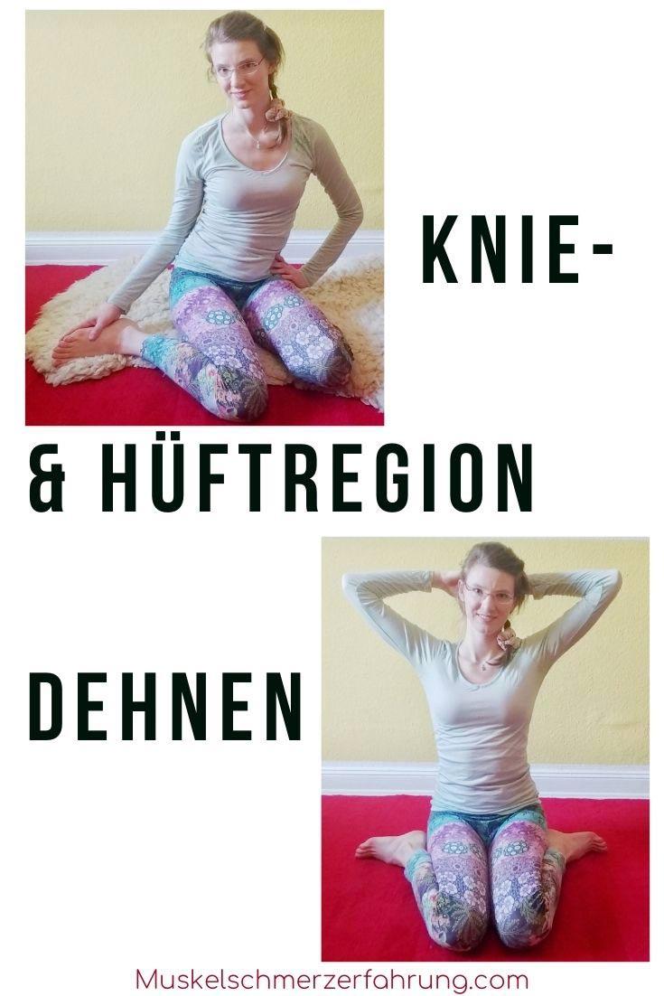 Knie- & Hüftregion dehnen