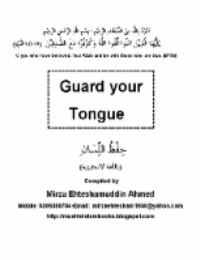 Guard Your Tongue