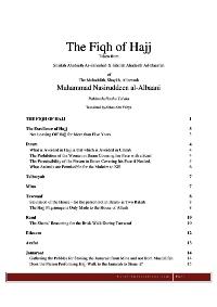 The Fiqh Of Hajj