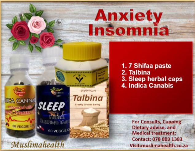 ANXIETY & INSOMNIA