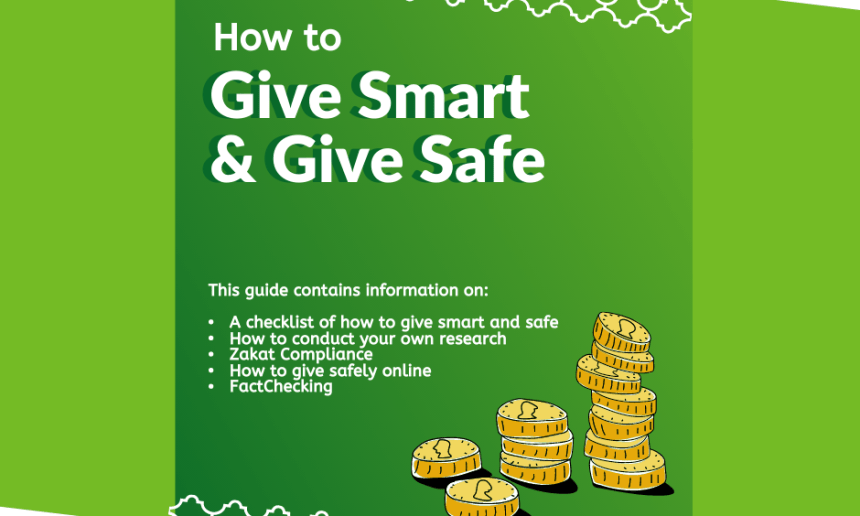 Give Smart and Give Safe.