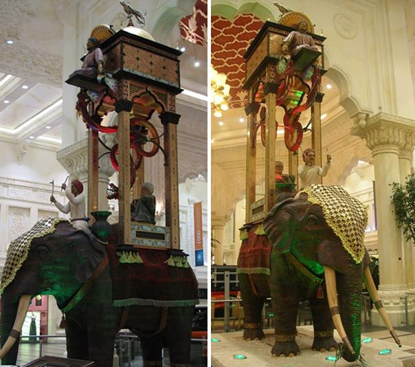Image result for al jazari elephant clock