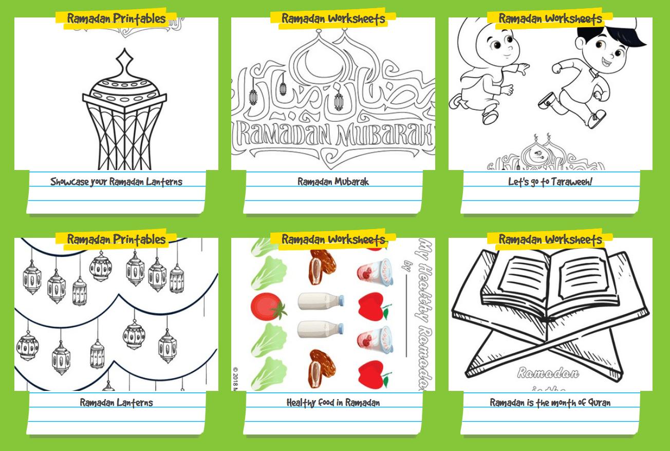 Quran Worksheets For Kids