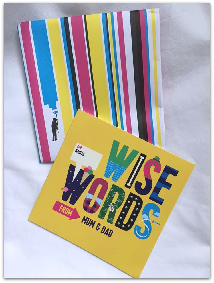 Wise Words Personalised book gifts