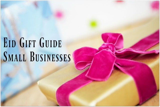 Eid Gift Guide - small businesses