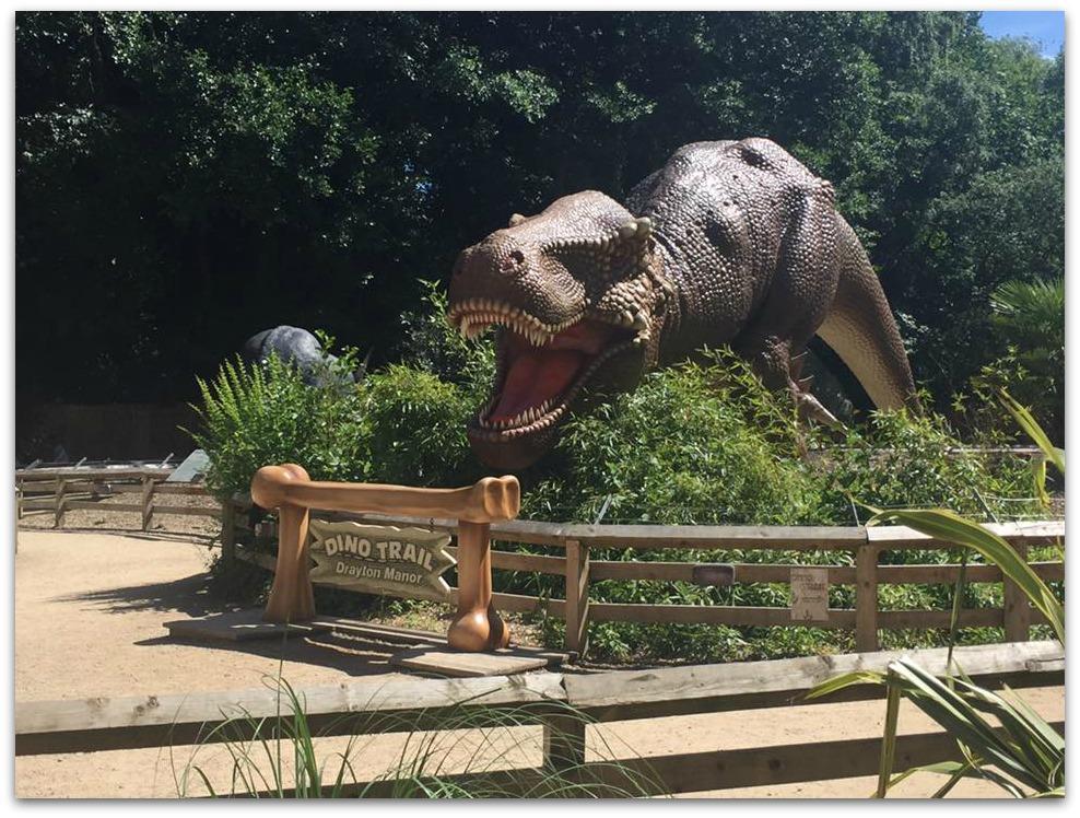 Dino Trail at Drayton Manor