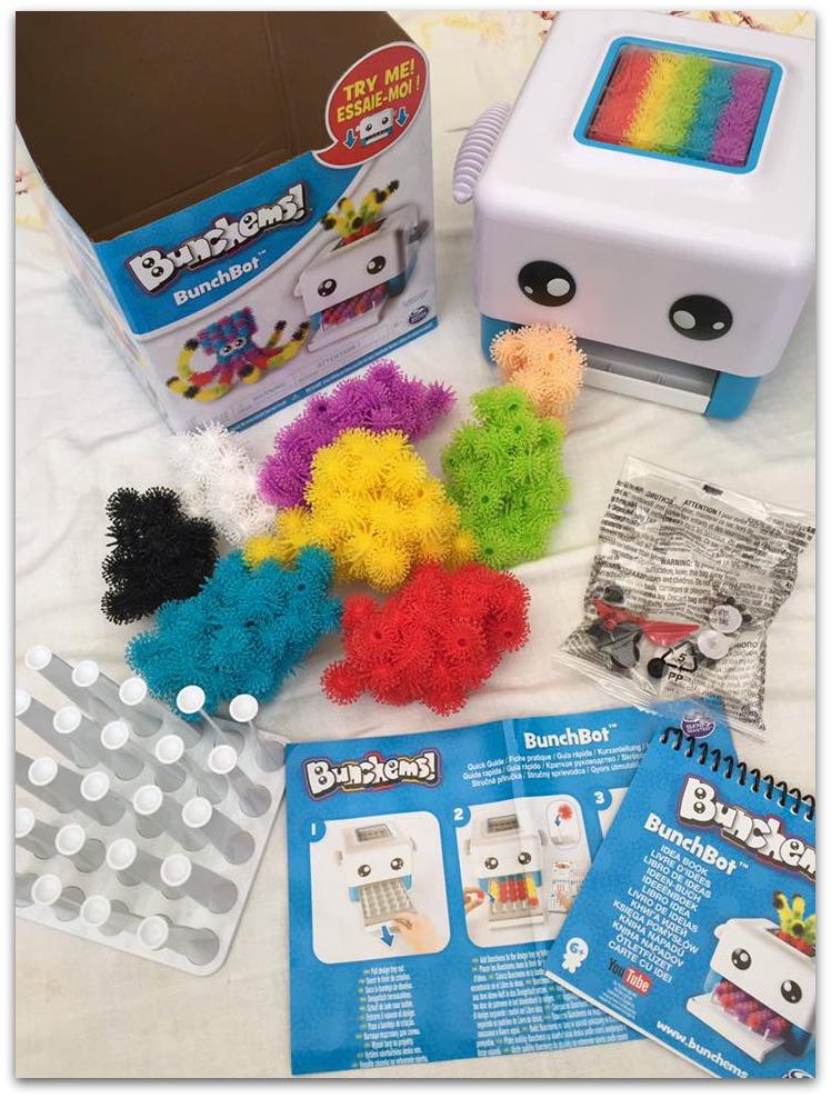 Bunchems BunchBot contents