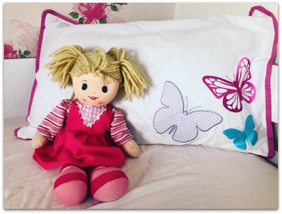 Ollie and Leila Butterfly Duvet Set